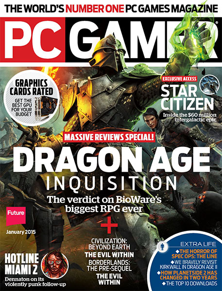 PC Gamer Jan 2015