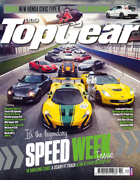 Top Gear Jul 2015