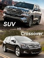 تفاوت کراس اوور با SUV