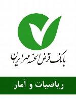 سوالات ریاضیات و آمار استخدامی بانک مهر ایران