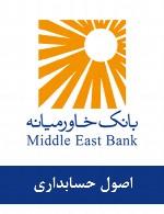 سوالات اصول حسابداری استخدامی بانک خاورمیانه