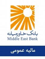 سوالات مالیه عمومی استخدامی بانک خاورمیانه