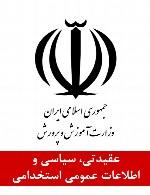 سوالات عقیدتی، سیاسی و اطلاعات عمومی استخدامی وزارت نیرو