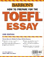 Barrons - How to Prepare for TOEFL Essay
