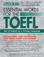 Essential Words for the TOEFL, 3rd Edition