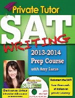 Private Tutor SAT Writing