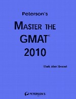 peterson`s Master the Gmat
