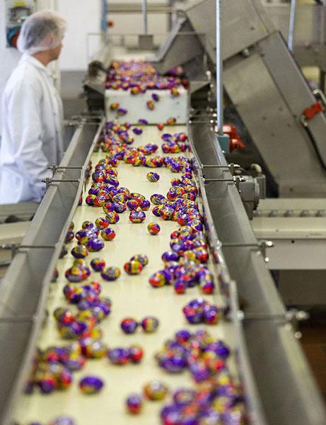 تولید شکلات و تافی