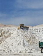 بهره برداری از معدن گچ و خاک