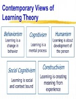 Contemporary Theories of Learning