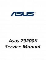 راهنمای تعمیر لپ تاپ Asus مدل Z9200KAsus Laptop Z9200K Service Manual