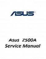 راهنمای تعمیر لپ تاپ Asus مدل Z500AAsus Laptop Z500A Service Manual