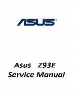 راهنمای تعمیر لپ تاپ Asus مدل Z93EAsus Laptop Z93E Service Manual