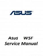 راهنمای تعمیر لپ تاپ Asus مدل W5FAsus Laptop W5F Service Manual