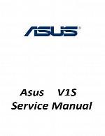 راهنمای تعمیر لپ تاپ Asus مدل V1SAsus Laptop V1S Service Manual