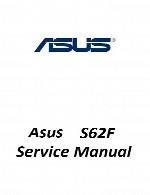 راهنمای تعمیر لپ تاپ Asus مدل S62FAsus Laptop S62F Service Manual