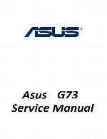 راهنمای تعمیر لپ تاپ Asus مدل G73Asus Laptop G73 Service Manual