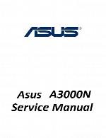 راهنمای تعمیر لپ تاپ Asus مدل A3000NAsus Laptop A3000N Service Manual