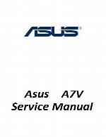 راهنمای تعمیر لپ تاپ Asus مدل A7VAsus Laptop A7V Service Manual