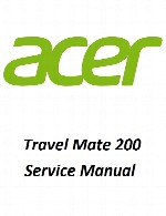 راهنمای تعمیر لپ تاپ Acerمدل Travel Mate 200Acer Laptop Travel Mate Service Manual