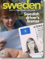 گواهینامه رانندگی در سوئد