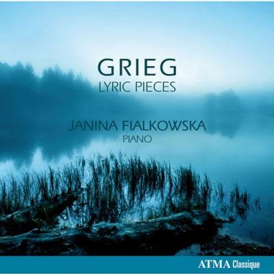 آلبوم « قطعه های شاعرانه گریگ » با اجرای پیانو جانینا فیالکوسکا / Janina Fialkowska - Grieg Lyric Pieces (2015)