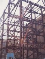 خطاهای جوشکاری اتصالات در ساختمان های فولادی