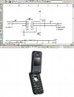 نقشه الکترونیک گوشی Simense مدل AF51Simense AF51 Electronic Diagram