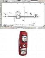 نقشه الکترونیک گوشی Simense مدل AL21Simense AL21 Electronic Diagram