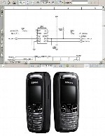 نقشه الکترونیک گوشی Simense مدل AX72Simense AX72  Electronic Diagram