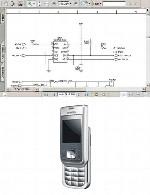 نقشه الکترونیک گوشی Simesne مدل Cf100Simense CF100 Electronic Diagram