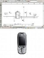 نقشه الکترونیک گوشی Simense مدل CX65Simense CX65 Electronic Diagram