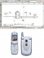 نقشه الکترونیک گوشی Panasonic مدل EB-X60Panasonic  EB-X60 Electronic Diagram