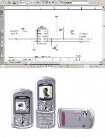نقشه الکترونیک گوشی Panasonic مدل EB-X500Panasonic  EB-X500 Electronic Diagram