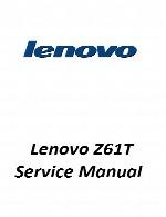 راهنمای تعمیر لپ تاپ Lenovo مدل Z61TLenovo Laptop Z61T Service Manual