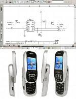 نقشه الکترونیک گوشی Samsung مدل E350Samsung E350 Electronic Diagram