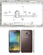نقشه الکترونیک گوشی Samsung مدل E500Samsung E500 Electronic Diagram