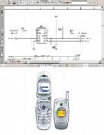 نقشه الکترونیک گوشی Samsung مدل E600Samsung E600 Electronic Diagram