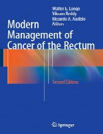 مدیریت مدرن سرطان مقعدModern Management of Cancer of the Rectum