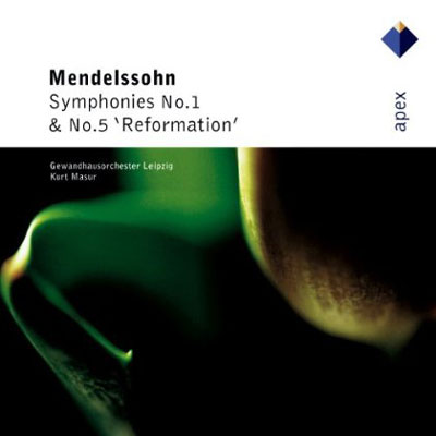 سمفونی شماره 1 و 5 مندلسون به رهبری کورت مازور / Kurt Masur - Mendelssohn - Symphonies Nos 1 & 5 (2006)