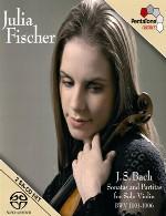 سونات ها و پارتیتاهای باخ CD-1 برای تکنوازی ویولن با اجرای جولیا فیشرBach Sonatas and Partitas for Solo Violin BWV 1001-1006 (2005) CD1