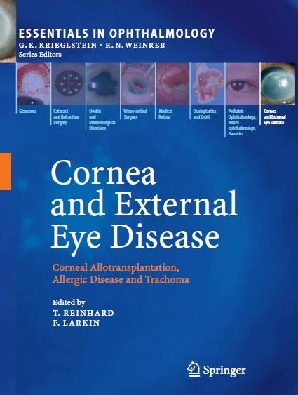 بیماری قرنیه و خارج چشم - پیوند Allo قرنیه، بیماری های آلرژیک و تراخم / Cornea and External Eye Disease