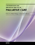 عمل نوآورانه و معاصر در مراقبت با داروی آرام بخشContemporary and Innovative Practice in Palliative Care