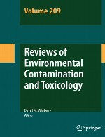 بررسی آلودگی محیطی و سم شناسی – جلد 209Reviews of Environmental Contamination and Toxicology - Volume 209