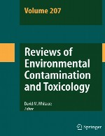 بررسی آلودگی محیطی و سم شناسی – جلد 207Reviews of Environmental Contamination and Toxicology - Volume 207