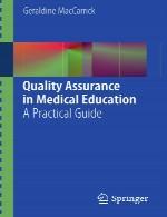 تضمین کیفیت در آموزش پزشکی – راهنمای عملیQuality Assurance in Medical Education