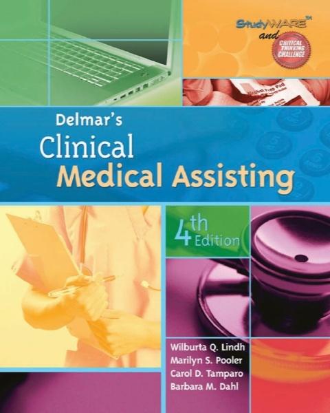 دستور کار برای دستیاری پزشکی بالینی دلمار / Workbook for Delmar's Clinical Medical Assisting