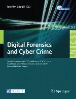 پزشکی قانونی دیجیتال و جرایم سایبری ICST2010Digital Forensics and Cyber Crime
