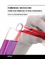پزشکی قانونی – از مشکلات قدیمی تا چالش های جدیدForensic Medicine
