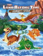 سرزمین ماقبل تاریخ - مسافرت شجاعانThe Land Before Time XIV - Journey of the Brave